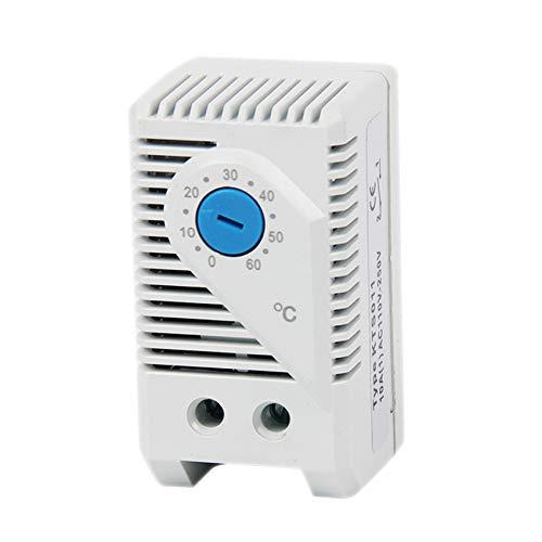 langir 0-60Grad Normalerweise offen (No) Mechanische Stego Schrank Thermostat Temperatur Controller Thermoregulator KTS011 -