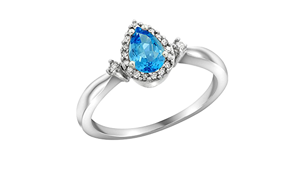 Details about  /0.33 Ct Natural Blue Sapphire 925 Sterling Silver Promise Ring For Women 1154