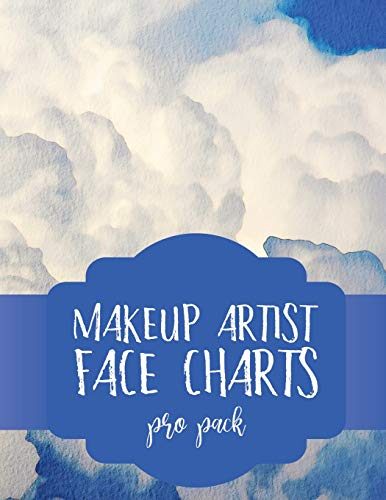 Makeup Artist Face Charts: Pro Pack (Face Charts for Makeup Artists, Band 12)
