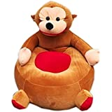 Samaaya Premium Quality Soft Toy Chair/seat For Baby Sitting/Soft Toy Chair For Kids (Monkey)
