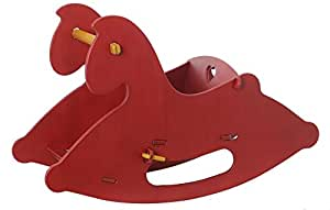 Moover Wooden Rocking Horse - Red