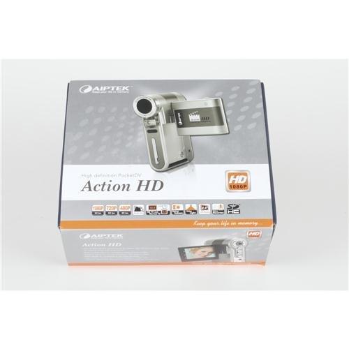 Aiptek 400441-uk AHD Z500Plus 1080P Action HD Camcorder (8MP, 3x optischer Zoom)