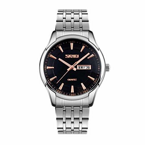 Skmei 9125BLK  Analog-digital Watch For Unisex