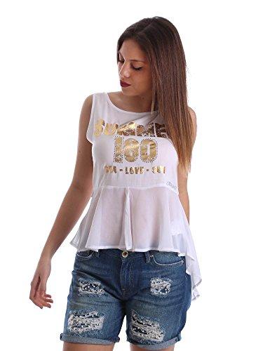 Gaudi jeans 73BD64249 Canotta Donna Bianco Xs