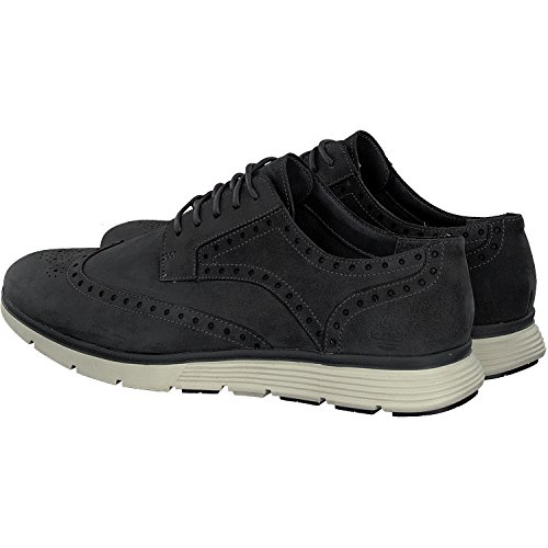 Timberland - Franklin Park Wingtip Oxford Noir Iris Nubuk - Sneakers Uomo Grigio