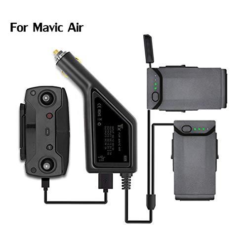 STARTRC Mavic Air Caricabatteria da Auto Intelligente 3in1 per DJI Mavic Air (Carica Batterie 2 e Accessori per Telecomando)