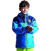 Dare 2b - Chaqueta de esquí para niños con Aislamiento Impermeable, Infantil, Color Athletic Blue/Admiral Blue, tamaño 9-10