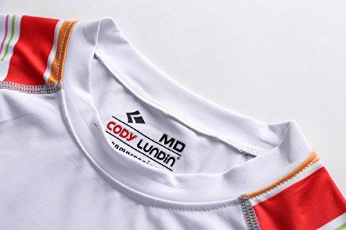 Cody Lundin À manches longues t-shirt serré blanc t-shirt femmes minces sous-vêtements de t-shirt white-f