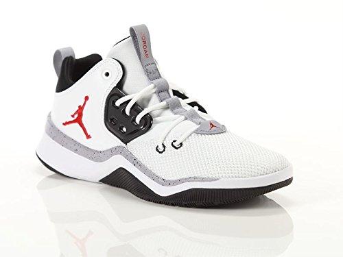 4bf481d9954 Jordan Nike Herren Air DNA Weiß Mesh/Synthetik Sneaker 42