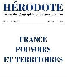 France, pouvoirs et territoires