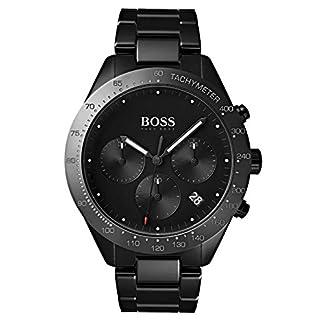 Hugo BOSS Reloj Cronógrafo para Hombre de Cuarzo con Correa en Acero Inoxidable 1513581