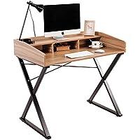 Soges Bureau d' Ordinateur de 100 cm Table en bois Bureau à domicile Bureau d'écriture Station