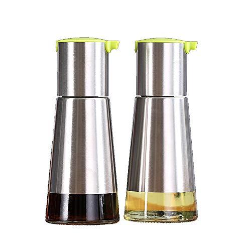 Vaso per olio in acciaio inossidabile per uso domestico bottiglia per condimento utilizzato per conservare olio/salsa di soia/aceto