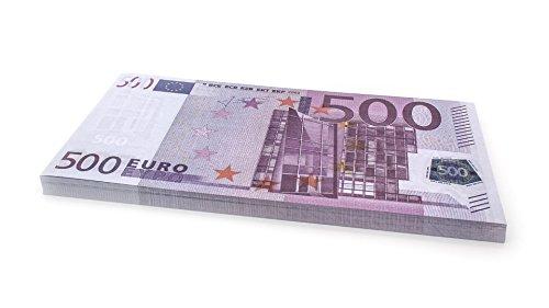 75 x €500 EURO Cashbricks® dinero de juguete (ampliados al 125% del tamaño original)