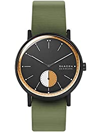 Skagen Reloj Analógico para Hombre de Cuarzo con Correa en Silicona SKW6541