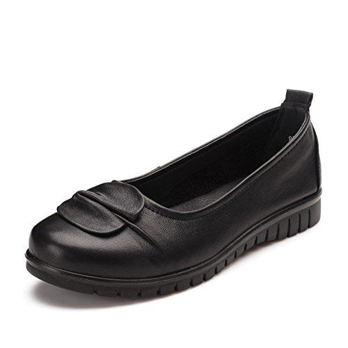 Lederschuhe weichen Boden und Arbeit/ am Spring Shoes/Ethnische Mitte und alten Alter Damenschuhe A