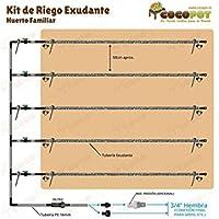 COCOPOT Pack 10U f/ür Rohr Bew/ässerung Tropfen Polyethylen Toma einfache 7/x 16/mm