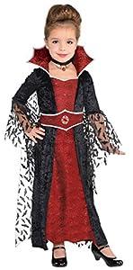 amscan 848089-55Disfraz niña Coffin Queen, 4-6años