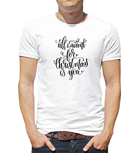 All I Want For Christmas Is You Lyrics Song Gift Love Family 001055 T Shirt Birthday