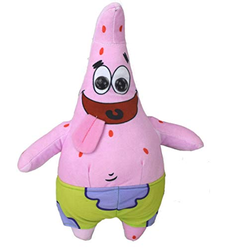 Nickelodeon Spongebob Patrick Star Plüsch Plüschfigur Kuscheltier Puppe Teddy ()