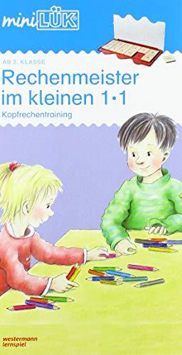 miniLÜK-Übungshefte / Mathematik: mini LÜK Rechenmeister im 1 x 1: Kopfrechentraining ab Klasse 2.