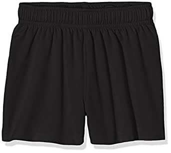 Fruit of the Loom Unisex Kids Performance Shorts, Black, 5-6 Years (Manufacturer Size:26)