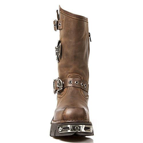 New Rock M 1601 S2, Boots homme Marron (Venture Aviador/Venture Aviador)