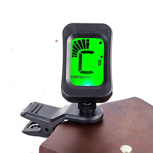 Blueberry BT1 Digital LCD Guitar Bass Violin Ukulele Clip On Automatic Chromatic Tuner