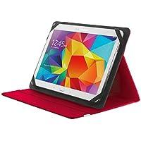 Trust Primo Etui Tablet Schutzhülle mit integriertem Ständer für 25,4 cm (10-Zoll) Tablet rot