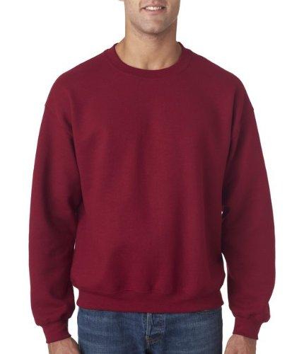 Gildan Men's Heavy Blend Crewneck Sweatshirt - Medium - Garnet - Gildan Crewneck Sweatshirt