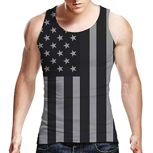 Belovecol Herren 3D American Flag Graphic Clothing Collection Badehose T-Shirts Tank Tops Jumpsuit - - XX-Large