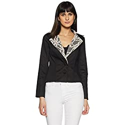 Avirate Women's Jacket (AVJK100019_Black_8)