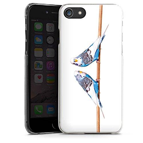 Apple iPhone SE Hülle Case Handyhülle Vogel Sittich Wellensittich Hard Case transparent