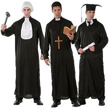 Student Priester Richter - Kostüm Set für Herren Gr. M/L