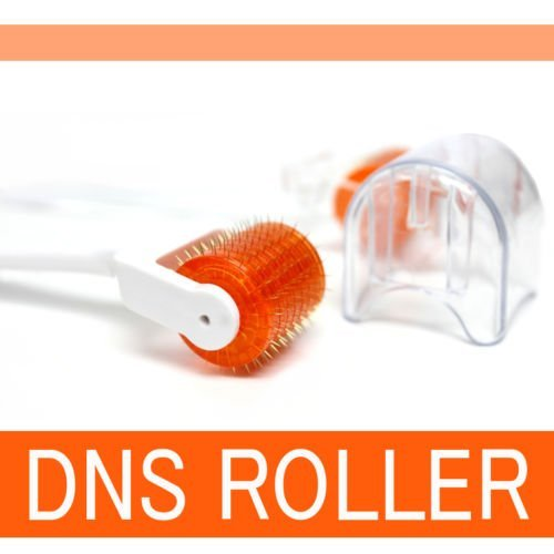 Dns 1.0 Mm 192 Needles Derma Roller Professional Luxury Titanium Alloy Needles Roller Treating Acne Scars Skin Hair Loss Wrinkles Blackheads (1.0 Mm)