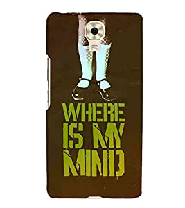 HiFi Designer Phone Back Case Cover Gionee M6 ( Where Is my Mind Girl )