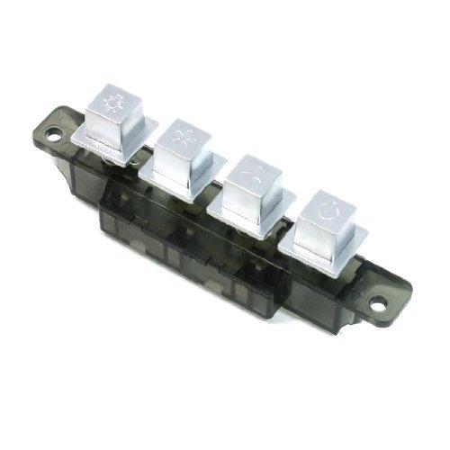 DealMux MQ224C AC 250 V 4 A 4 Taster Piano Typ Schlüsselbrett Schalter für Küchenabzugshauben