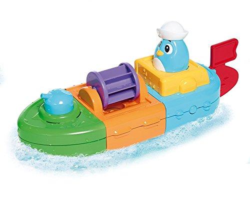 Tomy E72453 – 5-in-1 Aufziehboot, mehrfarbig - 2