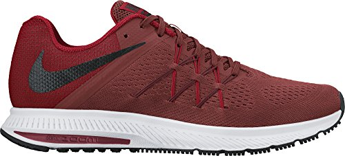 Nike Zoom Winflo 3, Chaussures de Running Entrainement Homme Rojo