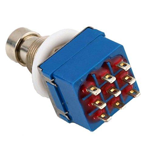 e-supporttm-3pdt-9-pins-box-stomp-gitarren-effekt-pedal-fussschalter-true-bypass-metall-blau
