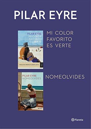 Mi color favorito es verte + Nomeolvides (pack) por Pilar Eyre