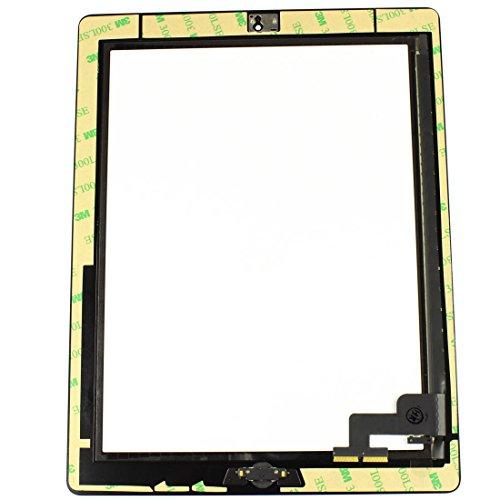 SoSav Ersatzglas für Touchscreen-iPad 2Schwarz