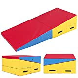 Best Tumbling Mats - VLFit Folding Gymnastics Incline Wedge Training Safety Crash Review