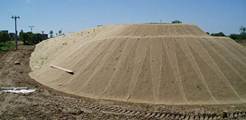 Erosionsschutzmatte Jute Netz 1,22x50m 250 g/m²