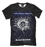 Black Mirror 3D T Shirt Men Women Harajuku Casual tee Tops