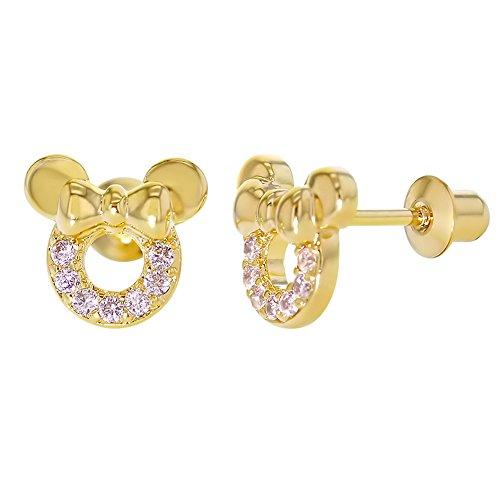 in-season-jewelry-boucles-doreille-a-vis-pour-fille-en-forme-de-tete-de-souris-plaque-or-14-carats-a