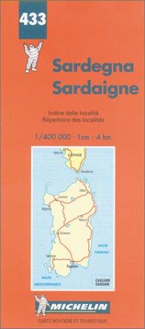 Preisvergleich Produktbild Michelin Map Sardinia/Sardinien