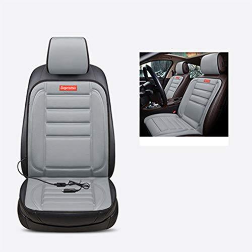 Siège chauffant Modification Accord CRV Civic Crown Road Coussin chauffant électrique Fit V (Couleur : A-Double seat)