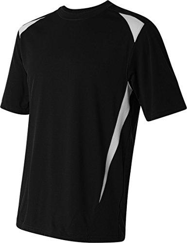 Augusta Herren T-Shirt Mehrfarbig - schwarz / weiß