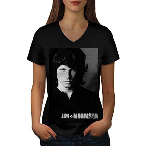 das-tren-musiker-jim-morrison-damen-neu-schwarz-m-t-shirt-wellcoda